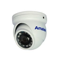 AC-HDV201 (3.6mm) (антиван) AMATEK Видеокамера цв, купол AHD/TVI/CVI/CVBS,2Мп