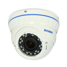 AC-HDV203V (2,8-12)(антиван) AMATEK Видеокамера цв, купол AHD/TVI/CVI/CVBS,2Мп
