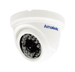 AC-HD202S (3.6mm) (пластик) AMATEK Видеокамера цв, купол AHD/TVI/CVI/CVBS,2Мп