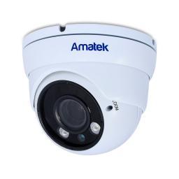 AC-HDV203VS (2,8-12)(антиван) AMATEK Видеокамера цв, купол AHD/TVI/CVI/CVBS,2Мп