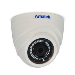 AC-ID132 (2.8) AMATEK Видеокамера IP, купол 1,3Мп,ИК,пластик