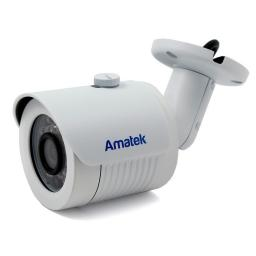 AC-IS132 (3.6) AMATEK Видеокамера IP, цилиндр 1,3Мп,ИК