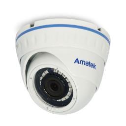 AC-HDV202 v.2 (2.8) (антиван) AMATEK Видеокамера цв, купол AHD/TVI/CVI/CVBS,2Мп
