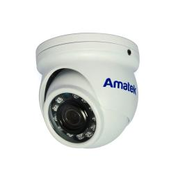 AC-HDV201S (2.8mm) (антиван) AMATEK Видеокамера цв, купол AHD/TVI/CVI/CVBS,2Мп