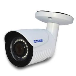 AC-HS202S (2.8mm) бел) AMATEK Видеокамера цв, цилиндр AHD/TVI/CVI/CVBS,2Мп