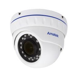 AC-IDV403ZA (2,7-13,5) AMATEK Видеокамера IP, купол 4Мп,ИК,мотор,варио