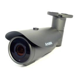AC-IS506ZA (2.8-12)(PoE) AMATEK Видеокамера IP, цилиндр 5Мп,ИК,варио,мотор