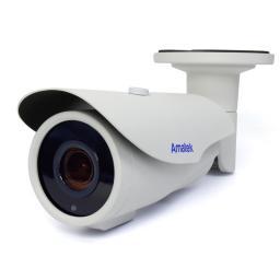 AC-IS206ZA v.2 (2,7-13,5)(PoE) AMATEK Видеокамера IP, цилиндр 2Мп,ИК,варио,мотор