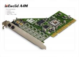 A 4M Ewclid Плата аудиоввода 4 кан.