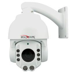 PS-A1-Z18 v.2.3.1 PolyVision Видеокамера цв, купол AHD, 1Мп, поворотн