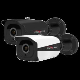 PN-IP4-B3.6P v.2.1.3 PolyVision Видеокамера IP, цилиндр H265, 4Мп, PoE