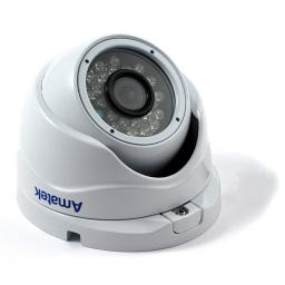AC-HDV132 (2.8mm)(антиван) AMATEK Видеокамера цв, купол AHD/TVI/CVI/CVBS,1,3